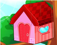 Bird house decorating berendez�s j�t�kok