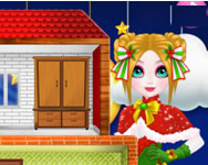 berendezős - Christmas puppet princess house
