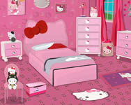 berendezős - Hello Kitty girl bedroom