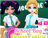 berendezős - Jacqueline and Eliza school bag design contest