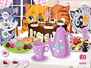Kitty tea party játék