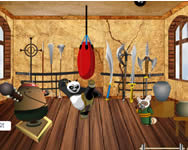 Kung Fu Panda training room decor berendez�s j�t�kok