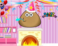 Pou birthday party berendez�s j�t�kok ingyen
