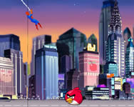 Spiderman save Angry Birds berendez�s j�t�kok ingyen